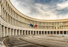 Neoclassical arkitektur i EUR-området, Rome, Italien Royaltyfri Foto