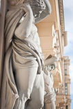 Neoclassical atlantes Royalty Free Stock Photo