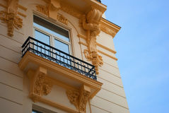Neoclassical balcony Royalty Free Stock Images