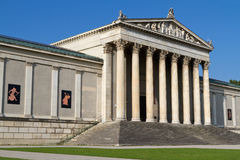 Neoclassical building in Munich, Germany Royalty Free Stock Photo