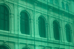 Neoclassical building renovation Royalty Free Stock Photo