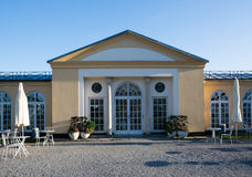 Neoclassical building Stock Photography