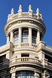 Neoclassical buildings of madrid, spain Royalty Free Stock Photography