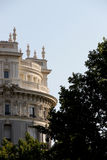 Neoclassical buildings of madrid, spain Stock Image