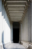 Neoclassical columns Royalty Free Stock Image