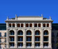 Neoclassical facade Royalty Free Stock Image