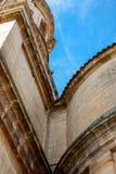 Neoclassical facade. Of  Santo Domingo de Silos Abbey. Castile and Leon, Spain Stock Photography