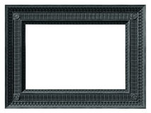 Neoclassical frame. Illustration of a neoclassical rectangular picture frame Stock Photo