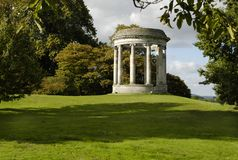 Neoclassical garden rotunda Stock Photo