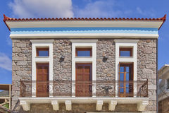 Neoclassical house facade Royalty Free Stock Photo