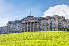 Neoclassical palace in Kassel. Neoclassical palace located in Kassel Wilhelmshohe, Germany royalty free stock photography