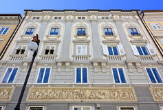 Neoclassical Palace in Trieste Stock Photos