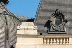 Neoclassical Roof Architecture Royalty Free Stock Photo