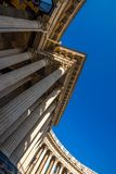 Neoclassical rounded colonnade Royalty Free Stock Photos