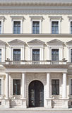 Neoclassical Style. Building Facade in Neoclassical Style as Architectural Element royalty free stock photography