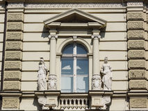 Neoclassical style window royalty free stock photography
