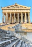 Neoclassical tempel för Walhalla- bavarian Royaltyfri Bild