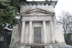 Neo classic Tomb Stock Photography