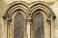 Neoclassical Tracery with rounded Moulding Stock Photos