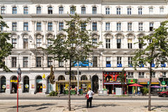 Neoclassical Vintage Architecture In Downtown Vienna Stock Photos