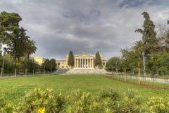 neoclassical zappeion för athens byggnadsmegaron Arkivfoton