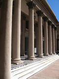 Neoclassicism architecture col. Umns on Solis Theater, Montevideo Uruguay Stock Photos