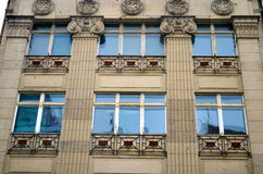Neoclassicism facade in berlin Royalty Free Stock Photo