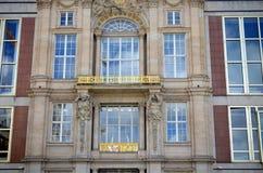 Neoclassicism facade in central berlin Stock Photos