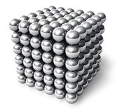 The Neocube - neodymium magnetic toy Royalty Free Stock Photography