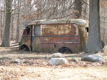 Neoga, de Leveringsvrachtwagen van Illinois voor Neoga-Opbrengst terug in de Dag royalty-vrije stock foto
