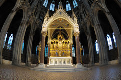 Neogothic altar Royalty Free Stock Image