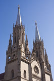 Neogothic Cathedral detail Stock Image