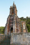Neogothic chapel in Furnas lake. Sao Miguel. Portugal Royalty Free Stock Images