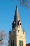 Neogothic Church Spire Royalty Free Stock Image