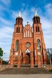 Neogothic kyrka royaltyfri bild