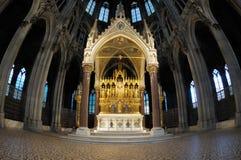 Neogotisch altaar Royalty-vrije Stock Afbeelding