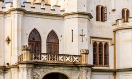 Neogotische manor in Rusovce, Slowakije Royalty-vrije Stock Fotografie