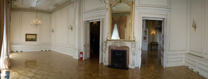 Neoklassieke decoratie Stock Foto