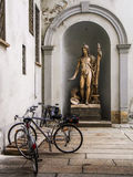 neoklassische Statue Stockfoto