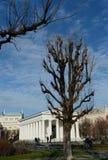Neoklassischer Theseus-Tempel, im Jahre 1821 abgeschlossen Diese kleinräumige Replik des Tempels von Hephaestus in Athen Volksgar lizenzfreies stockbild