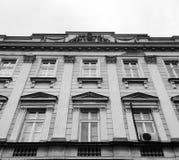 Neoklassisches Hochschulgebäude Stockbild
