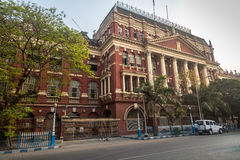 Neoklasyczni architektoniczni pisarzi buduje dom sekretariat lokalizować w b B d Torba teren Kolkata Obrazy Stock