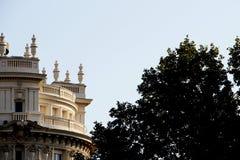 Neoklasyczni budynki Madrid, Spain Obraz Royalty Free