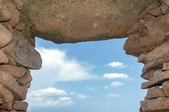 Neolithic archway Stock Photography