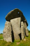 Neolithic burial chamber Royalty Free Stock Photography
