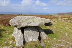 Neolithic Chambered Tomb Royalty Free Stock Photography