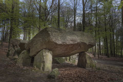 Neolithic passage grave, Megalithic stones in Lower Saxony, Germany. Neolithic passage grave, Megalithic stones in Osnabrueck-Haste, Osnabrueck country, Germany royalty free stock photography