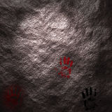 Neolithic Signatures Stock Photography