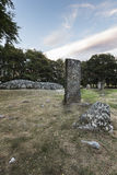 Neolithic site at Balnuaran of Clava in Scotland. Royalty Free Stock Image