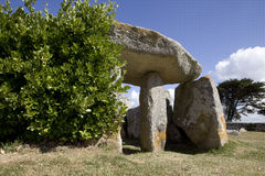 Neolithic site, Brittany Stock Images